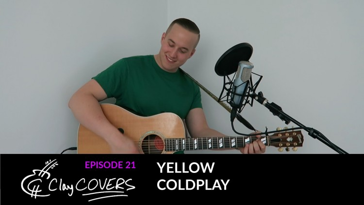 Yellow – Coldplay (Clay COVERS Ep. 21)
